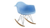 Eiffel Rocker Chair Blue