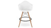 Eiffel Counter Stool With Arms, White