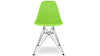 Eiffel Chair With Steel Legs, Green