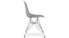 Eiffel Chair With Steel Legs, Grey