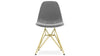 Eiffel Chair With Steel Legs, Grey Velvet