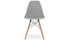 Eiffel Chair With Wood Legs, Grey