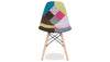 Patchwork Side Chair, Woodleg-Base