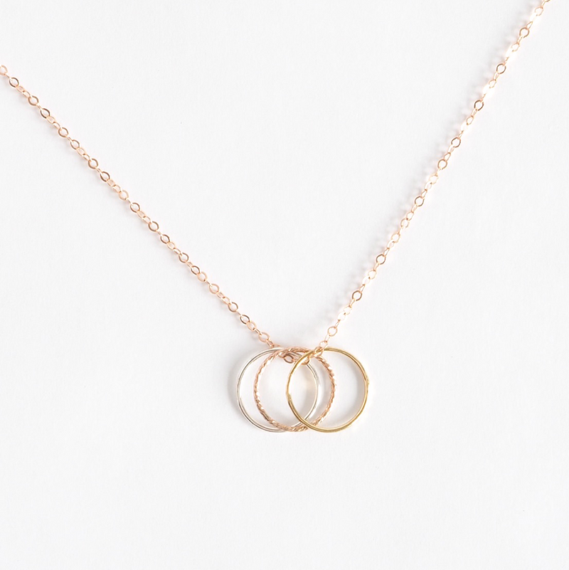 Convertible Midi Ring Necklace