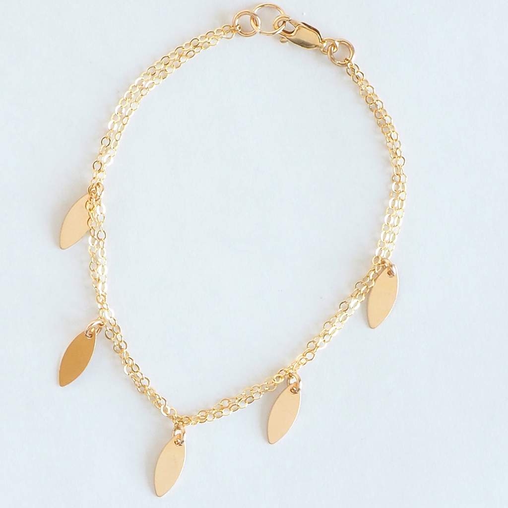 Leaf Bracelet - on-holiday