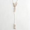 Long Smokey Quartz Lariat Necklace - on-holiday