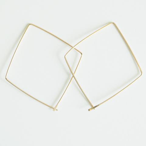 Geometric Dangle Earrings