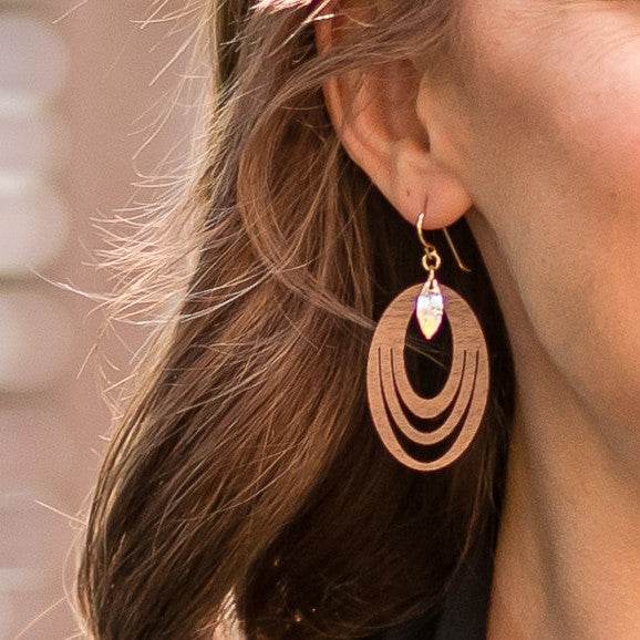 Waterfall Hoops