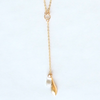 Swarovski Teardrop Lariat Necklace