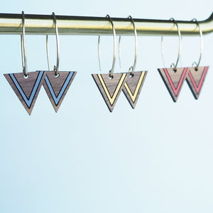 Triangle Drop Earrings - on-holiday