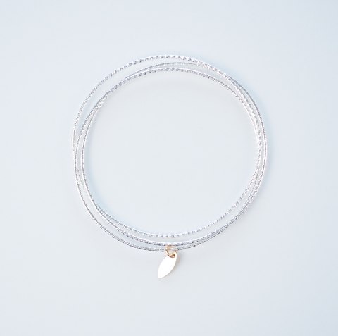 Disc Choker Necklace