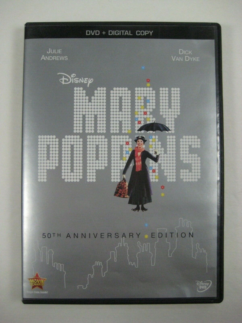 Mary Poppins (DVD, 2013, 50th Anniversary Edition Includes Digital Copy)