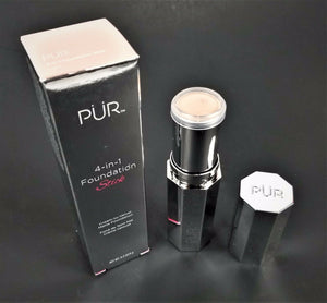 PUR FOUNDATION STICK 4-IN-1 Light #180541 - Net Wt  0.3 Oz / 9g