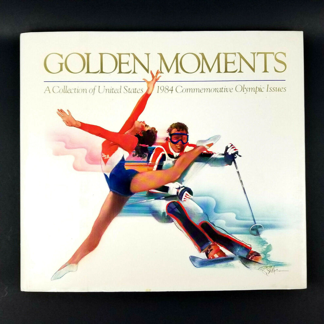Golden Moments 1984 Commemorative Olympic Issue Collection (1984 USPS) Hardback