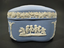 Vintage Wedgwood Jasparware Ring Box - Made In England