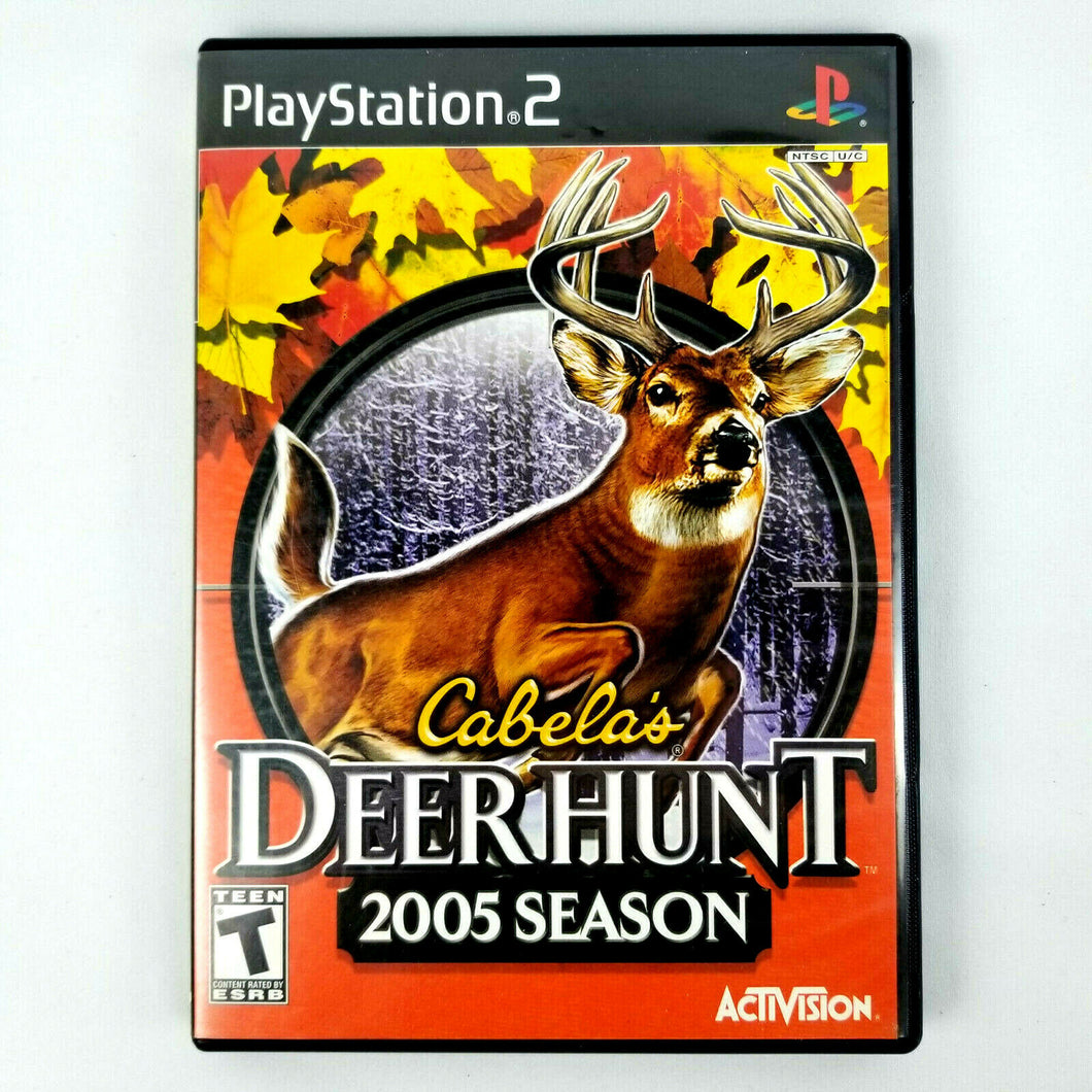 Cabela's Deer Hunt: 2005 Season (Sony PlayStation 2, 2004)