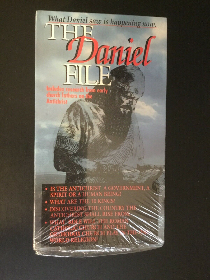 The Daniel File VHS (What Daniel Saw Is Happening Now)