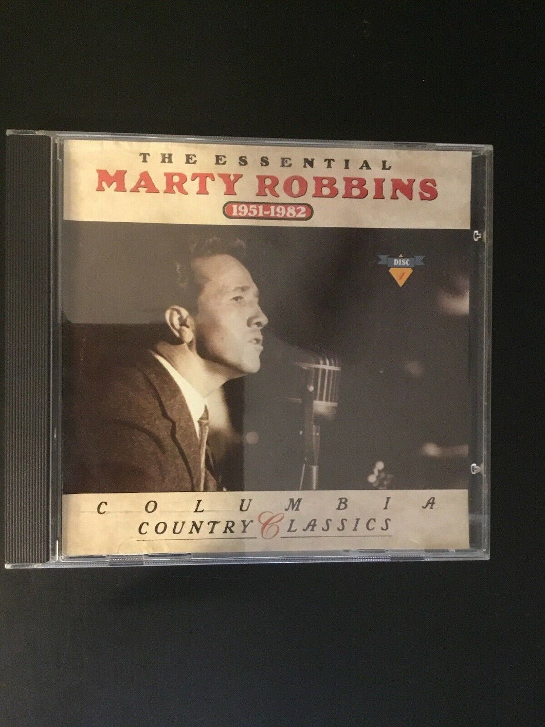 Marty Robbins CD (Country Classics 1951-1982)
