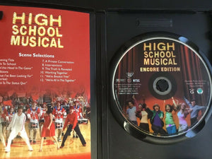 High School Musical (DVD, 2006, Encore Edition)