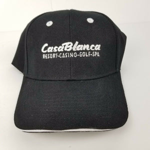 Casa Blanca Resort Casino Mesquite NV Ball Cap / Baseball Hat w/Embroidery