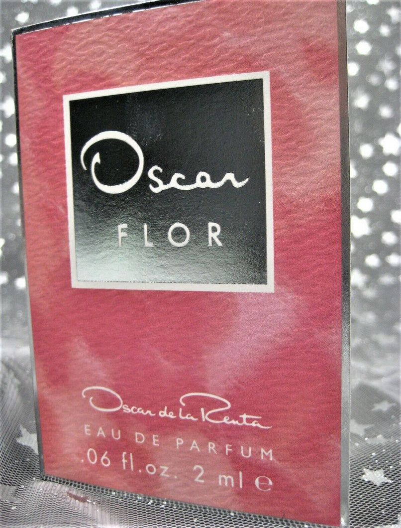Oscar FLOR by Oscar de la Renta Eau De Parfum - .06 Fl Oz Sample Sz in Box - NEW