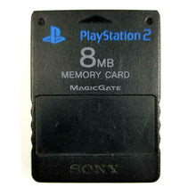 SONY PlayStation2 PS2 8MB MagicGate Memory Card N1158 - Black