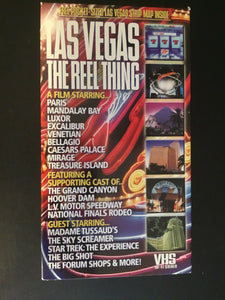 Las Vegas The Reel Thing (VHS/2000)
