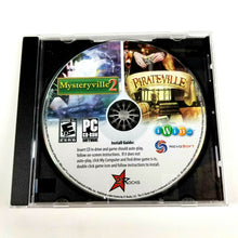 Mysteryville 2 / Pirateville (PC CD, 2009) 2 Video Games -Rated E (Everyone 10+)
