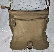 Multi-Sac Expandable Handbag / Shoulder Bag - Golden Tone