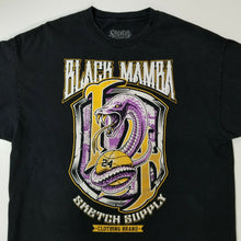 Sketch Black Mamba Kobe Bryant #24 T-Shirt 2XL Black w/Colorful Imprint