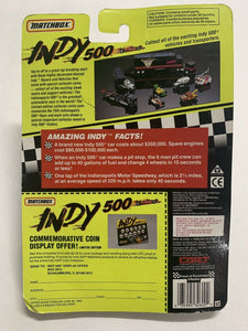 Matchbox INDY 500 Diecast Car #11 Ray Harroun w/ Ltd Ed Collector Coin