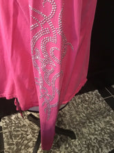 Twenty Twenty Tank Top Coverall. Pink With Bling-XL. Sexy, all Occasion.