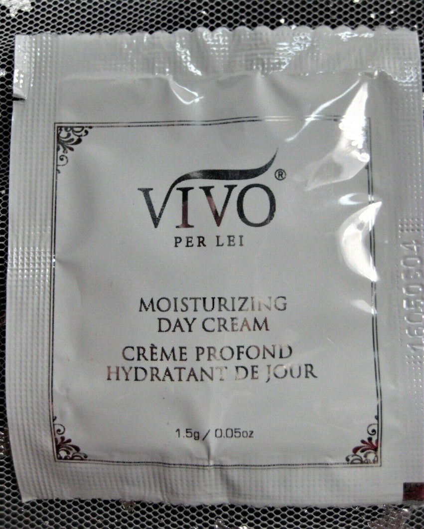 Vivo Per Lei Moisturizing Day Cream Sample Size! .05 Oz Foil Packet