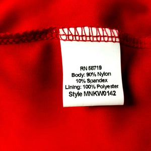 NOTATIONS Womens 2-Pc Glamorous SS Stretchy Blouse Tank Combo - XL - Red - NWOT