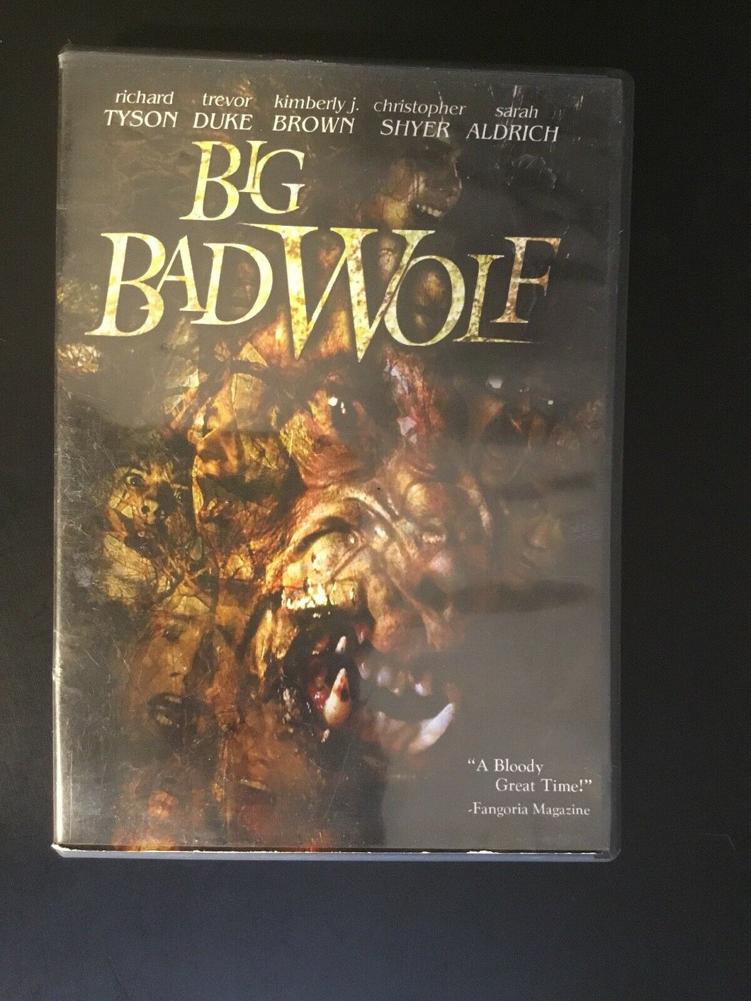 Big Bad Wolf (DVD, 2007, Conservative Art)