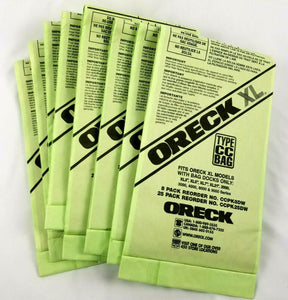 8 Bags - ORECK XL Type CC Vacuum Cleaner Bags CCPK8DW - NEW (Open Box)