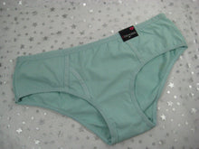 B Intimates Bikini Briefs - Aqua -Cotton Spandex - Sz M - w/Tags