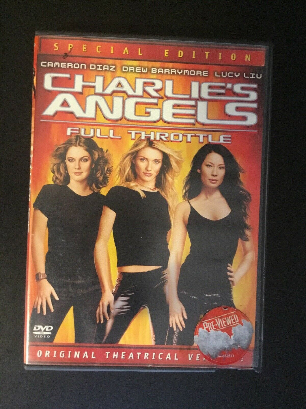 Charlie's Angels: Full Throttle (DVD, 2003, Special Edition - Pan & Scan)