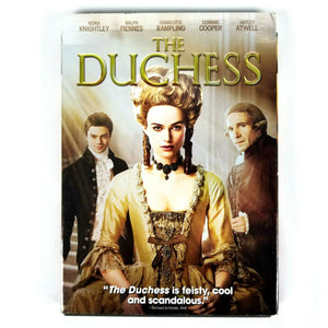 The Duchess (DVD, 2008, Widescreen)