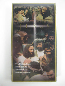 "Warner Brothers Movie ""Jesus"" Video Cassette for VCR - in Wrapper --- photos"