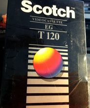 SEALED 1 Blank Scotch T-120 EG High Grade VHS Tape For VCR