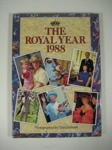 THE ROYAL YEAR 1988 By Tim Graham Summit Books Diana William Harry QEII