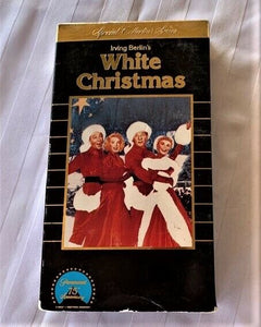 1954 Irving Berlin's White Christmas w/Bing Crosby VHS Video Tape for VCR