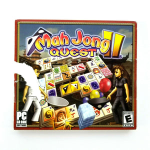 Mah Jong Quest II PC Games Puzzle 2007 - Windows 98 2000 XP Vista Computers