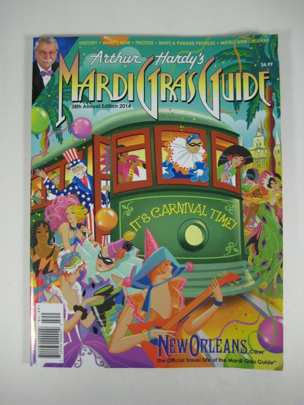 Arthur Hardy's Mardi Gras Guide 2014New Orleans