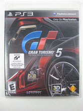 Gran Turismo 5 (Sony PlayStation 3, 2010) with manual