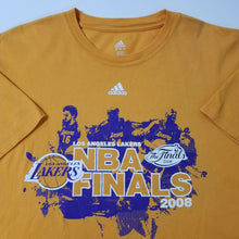 ADIDAS T-Shirt XL KOBE BRYANT #24 LA Lakers 2008 NBA Finals