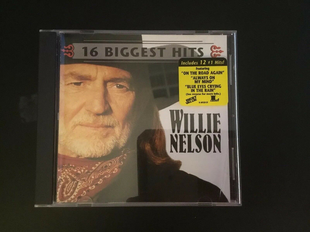 16 Biggest Hits by Willie Nelson (CD, Jul-1998, Legacy)