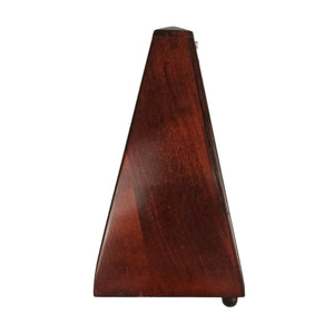 Vintage Wittner Brown Wooden Mechanical Metronome Musical Instrument Timer Tool