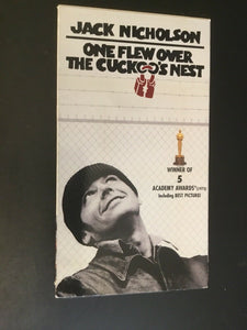 One Flew Over the Cuckoos Nest (VHS, 2001)